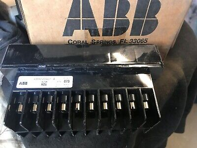 New Abb Ft-1 Flexitest Test Switch 498A020G01