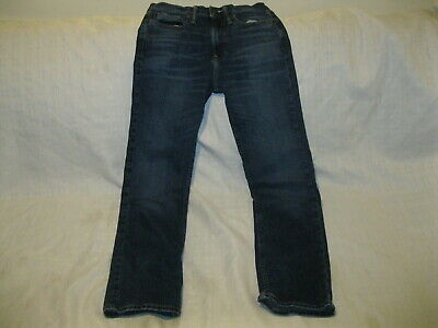 Abercrombie Kids Boys Straight Leg Jeans Size 13/14 *PREOWNED*