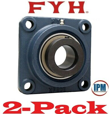 "2-PACK! NEW!  FYH NANF206-20  1-1/4"" 4-Bolt Flange Bearing Eccentric Lock Collar"