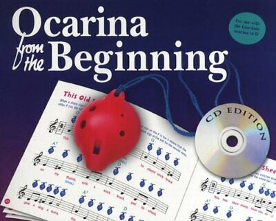Ocarina From The Beginning Bk/Cd by Hussey, Christopher Book The Fast Free