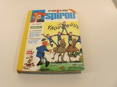 Comics Album Spirou Binding No. 143 1976