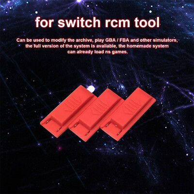 3PCS Replacement Switch RCM Tool Plastic Jig for Nintendo Switchs
