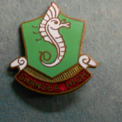 #Dswansea   High    School  Enamel  Lapel  Badge