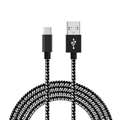 USB C 3..0 Type-C Fast Data Sync Nylon Braided Charger Charging Cable 3M 10FT