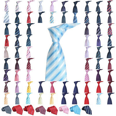 Mens Classic Skinny Tie Slim Striped Jacquard Woven Necktie Plain Wedding Party