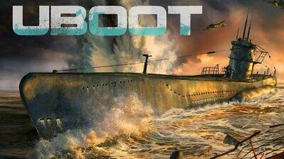 UBOAT new PC Game Strategy Management Action Ship Boat Survival +15