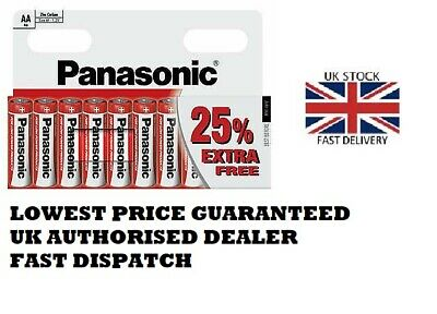 Panasonic Red Specials AAA Batteries Zinc Carbon 1.5 V r03rz/10hh