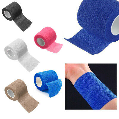 10 PCS Self-Adhesive Elastic Bandage For Muscles Ankle Gauze Medical Health Care