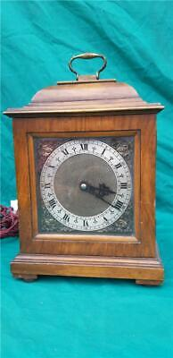 Vintage Wood & Brass Early Electric Mantle Clock by Smiths English Clocks Ltd