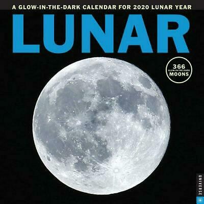Lunar 2020 Square Wall Calendar by Universe Publishing Paperback Book Free Shipp