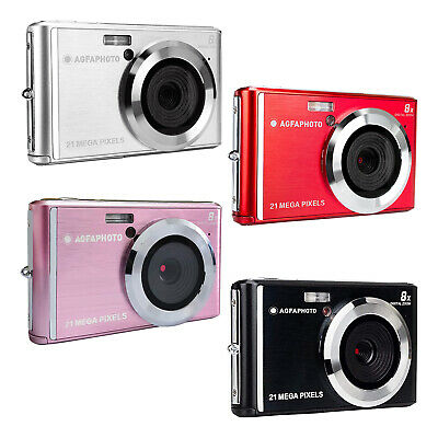 Agfa DC5200 Kompakte Digitalkamera 21MP CMOS-Sensor 8x Digitaler Zoom