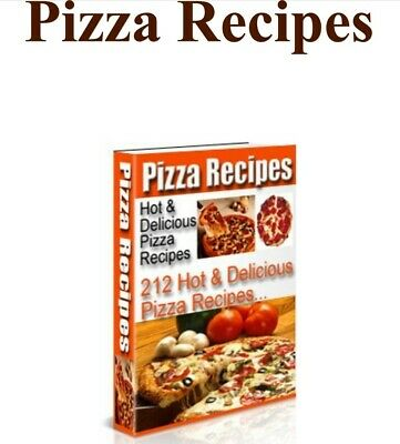 Pizza Recipes Hot & Delicious eBook PDF with Full Master Resell Rights 212Pizza
