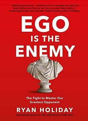 Ego is the Enemy by Ryan Holiday Paperback NEW Book