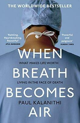 When Breath Becomes Air by Paul Kalanithi Paperback NEW Book