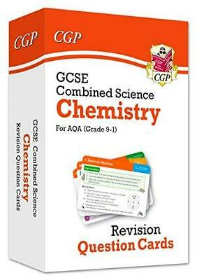 New 9-1 GCSE Combined Science: Chemistry AQA Revision Question Cards by CGP Book