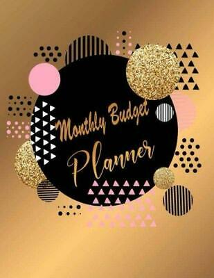 Monthly Budget Planner by Sara Journal Notebook / blank book NEW Book