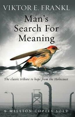 Man's Search For Meaning by Viktor E. Frankl Paperback NEW Book