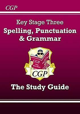 Spelling Punctuation and Grammar for KS3 - Study Guide by CGP Books Paperback NE