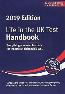 Life in the UK Test: Handbook 2019 New Paperback Book