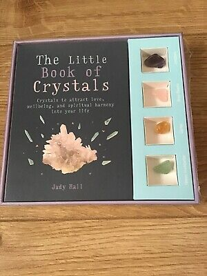Little Book of Crystals Crystal Kit by Judy Hall INCLUDES Crystals