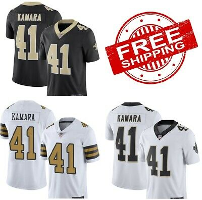 best website 45b35 e713e ALVIN KAMARA JERSEY #41 New Orleans Saints Nike Jersey Black ...
