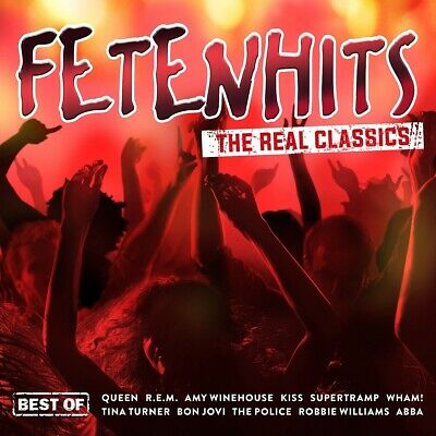 DIVERSE ARTISTS - Fetenhits - The Real Classics (Best Of), 3 Audio-CDs