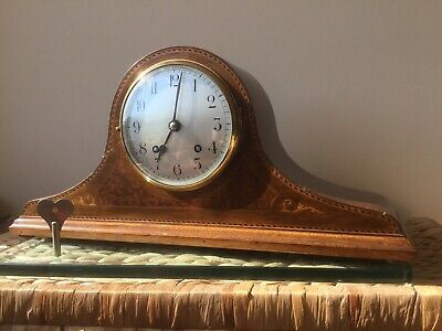 Early EWCM Empire Striking Clock, Fully Serviced, Re-silvered Dial, Original Key