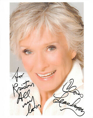 CLORIS LEACHMAN - Actress - Phyllis / Young Frankenstein - Autograph Photo