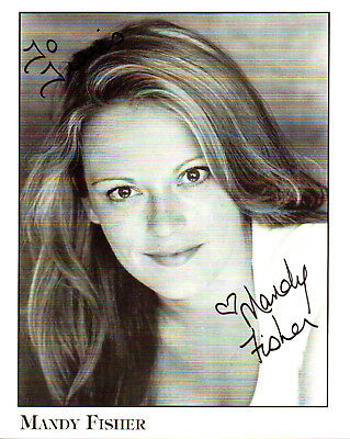MANDY FISHER - Adult Film Actress - Autograph Photo