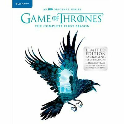 GAME OF THRONES: The Complete First/1st Season 1/One Blu-Ray Robert Ball >NEW<