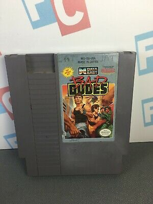 NES Nintendo Entertainment System Bad Dudes Videogame TESTED WORKS