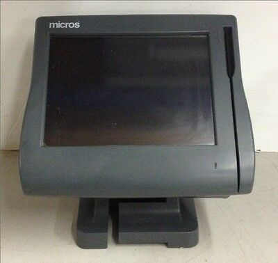 Micros Point Of Sale POS Workstation 4 400614-001 System Unit w/ Compact Flash