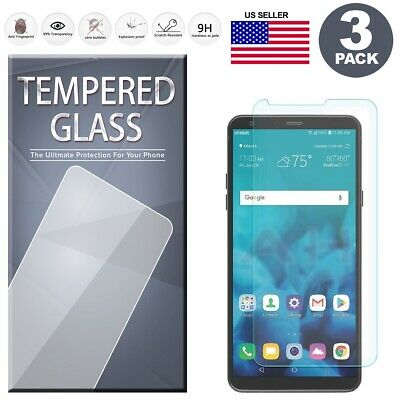 (3-Pack) Tempered Glass Film Screen Protector For LG Stylo 4 / LG Stylo 4 Plus