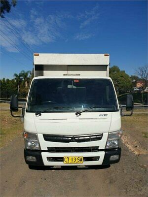 2012 Fuso Canter 515 White A Cab Chassis