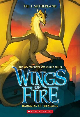 Darkness Of Dragons Wings Of Fire Book 10 By Tui T Sutherland Paperback 432 page