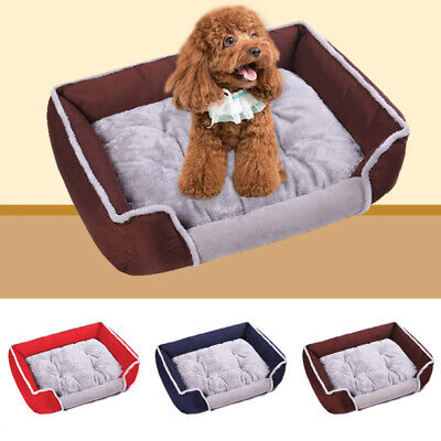 Soft Large Pet Bed Sofa Dog Cat Cushion Nest Puppy Warm House Kennel Mat