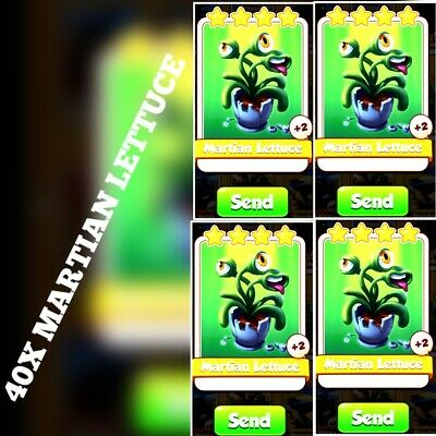 35x Martian Lettuce  :- Coin Master Cards ( Fastest Delivery )