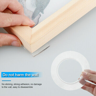 Magic Multifunctional Double-Sided Adhesive Tape Traceless Washable Removable