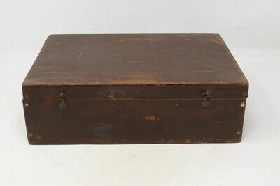 Old Antique Handcrafted Wooden Medicine Box Ayurveda Medicine Box Collectible