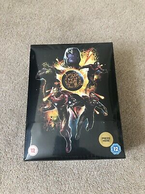 AVENGERS Endgame 3D 2D + Blu-Ray Collector's Edition Steelbook