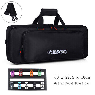 Portable Electric Guitar Effect Pedal Board Case Gig Bag DIY Guitar Pedalboard