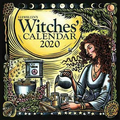 Llewellyn's 2020 Witches Calendar by Llewellyn Publications Free Shipping!