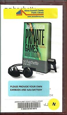 Private Games by James Patterson Unabridged Playaway Audio Book