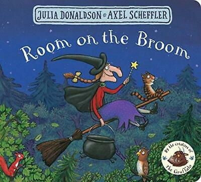 Room on the Broom by Julia Donaldson and Axel Scheffler Board book NEW Book