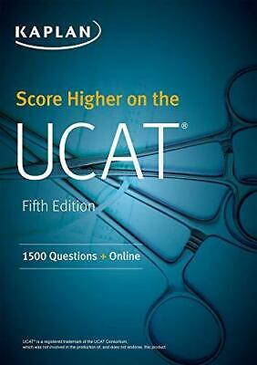 Score Higher on the UCAT by Kaplan Test Prep Paperback NEW Book