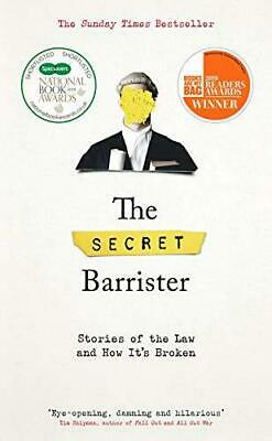 The Secret Barrister by The Secret Barrister Hardback NEW Book