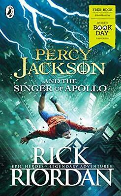 Percy Jackson and the Singer of Apollo by Rick Riordan Paperback NEW Book