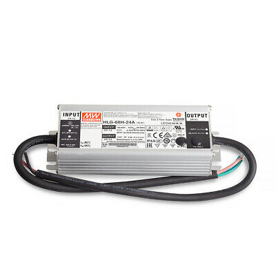 Mean Well HLG-60H-24A SNT 24V/DC/0-2,5A/ 60 W IP65