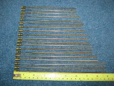 Job Lot 19 Vintage Mantel Clock Brass Chime Bars/Rods.