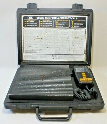 Cps Cc220 Compact High Capacity Charging Scale